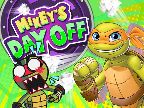 Teenage Mutant Ninja Turtles: Mikey's Day Off