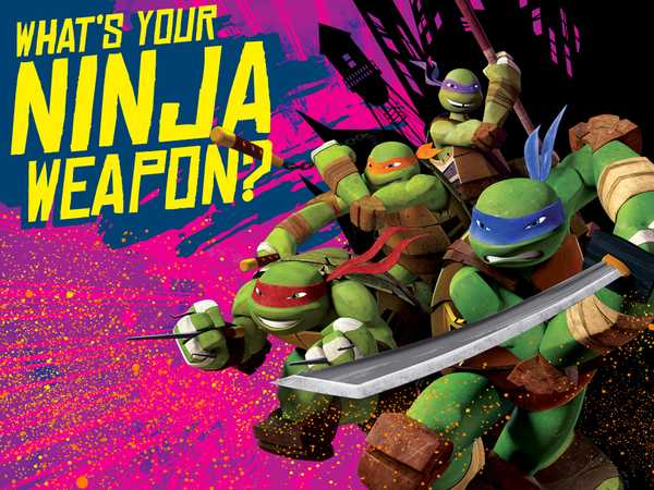 Teenage Mutant Ninja Turtles: What's Your Ninja Weapon?