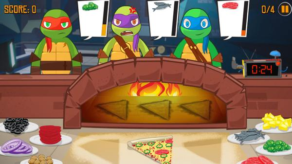 Pizza Like A Turtle Do! Screenshot Picture