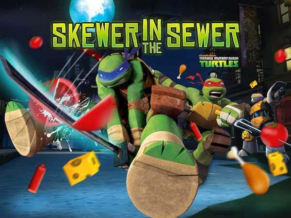 Teenage Mutant Ninja Turtles: Skewer in the Sewer