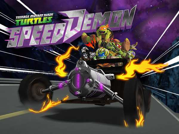 Teenage Mutant Ninja Turtles: Speed Demon