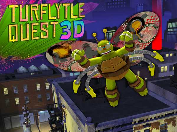 Teenage Mutant Ninja Turtles: TurFlytle Quest 3D