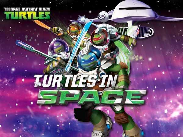 Teenage Mutant Ninja Turtles: Turtles in Space