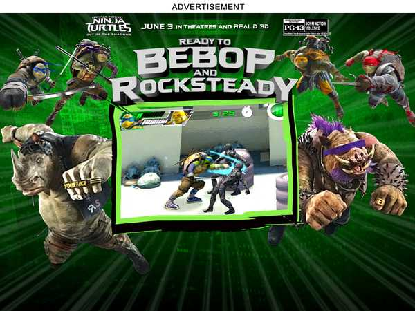 Type 4: TMNT 2 Movie Game Ready to Bebop and Rocksteady