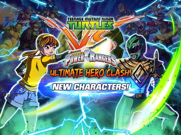 Teenage Mutant Ninja Turtles vs Power Rangers: Ultimate Hero Clash!
