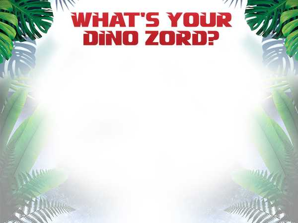 What's your Dino Zord?