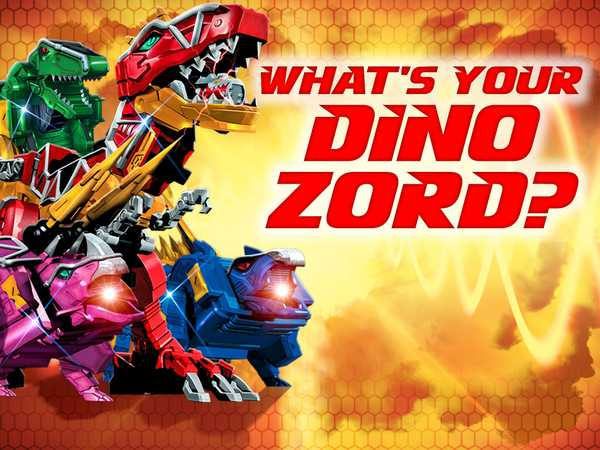 Power Rangers Dino Super Charge: What's Your Dino Zord?