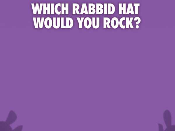 Which Rabbid hat would you rock?