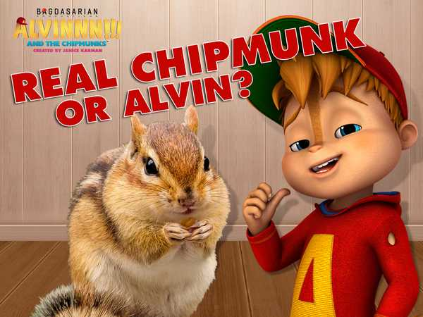Alvin and the Chipmunks: Real Chipmunk or Alvin?