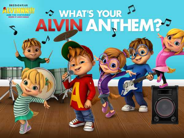 Alvin and the Chipmunks: What's Your Alvin Anthem?