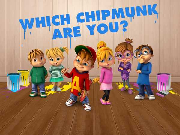 ALVINNN!!! and the Chipmunks: Which Chipmunk Are You?