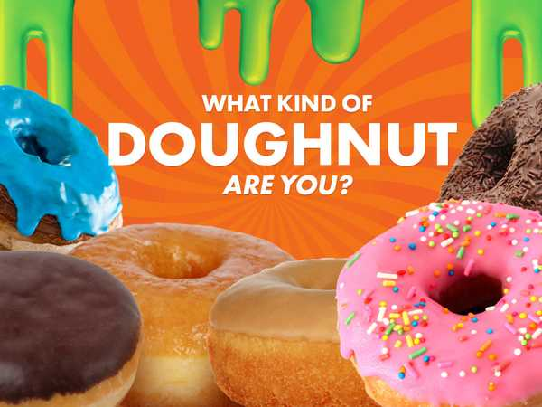 Nickelodeon: What Kind Of Doughnut Are You?