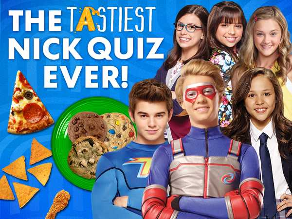 Nickelodeon: The Tastiest Nick Quiz Ever!