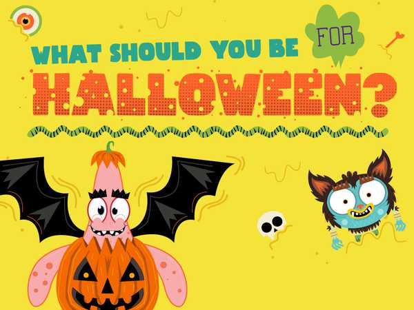 Nickelodeon: What Should You Be For Halloween?