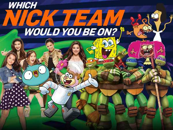 Kids Choice Sports: Which Nick Team Would You Be On?