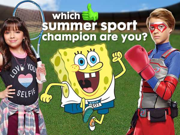 Promo type 1: Which Summer Sport Champion Are You?