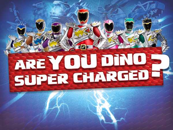 Power Rangers Dino Super Charge: Are You Dino Super Charged?