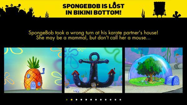 Can You Find SpongeBob? Screenshot Picture