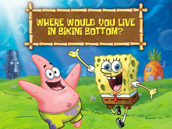 SpongeBob SquarePants: Where Would You Live In Bikini Bottom?