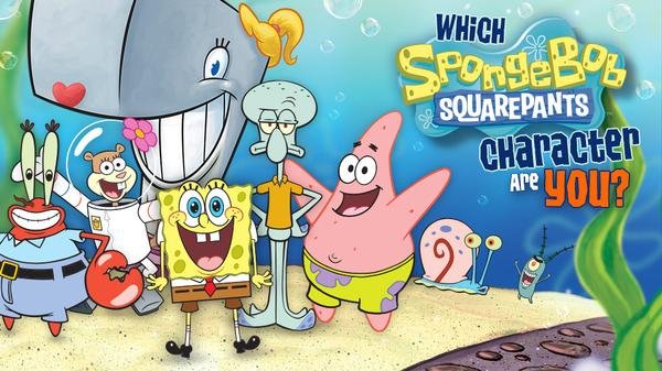 SpongeBob SquarePants: Which SpongeBob Character Are You ...  SpongeBob Squar...