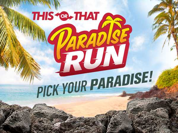 Paradise Run: Pick Your Paradise!