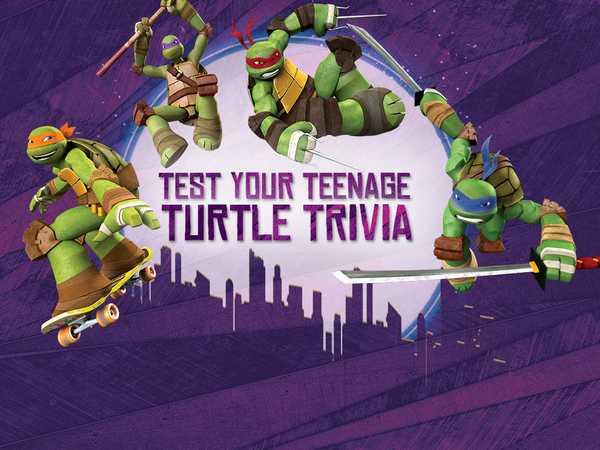 Teenage Mutant Ninja Turtles: Test Your Teenage Turtle Trivia