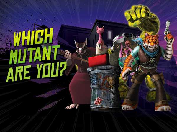 Teenage Mutant Ninja Turtles: Which Mutant Are You?