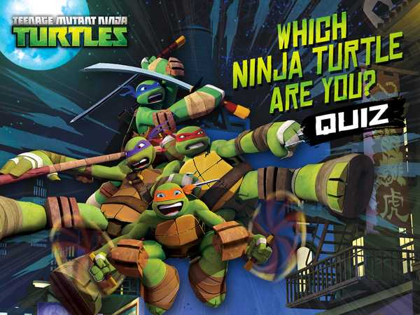 Promo type 1: Which Ninja Turtle Are you?