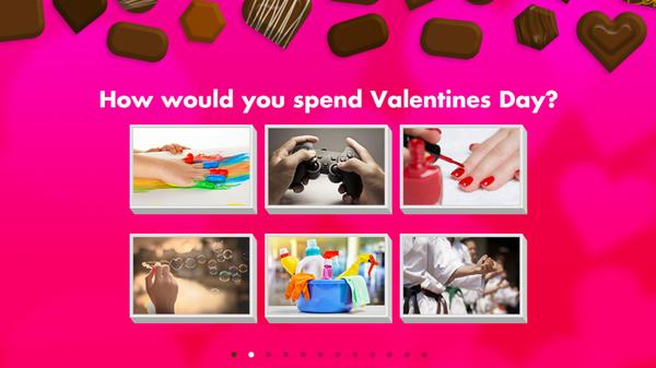 What Kind of Valentine Are You? Screenshot Picture