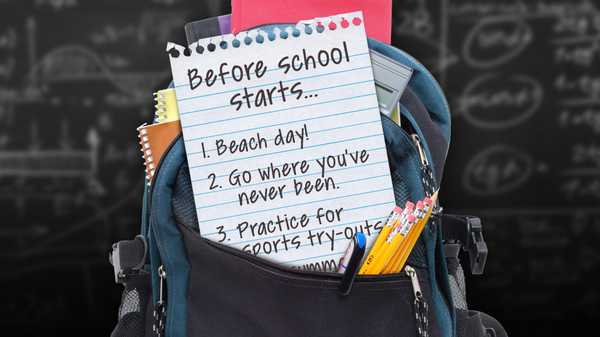 """100 Things to Do Before High School: """"5 Things to Do for Back to School"""""""