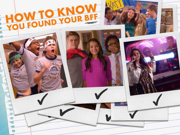 "100 Things To Do Before High School: ""You Know You're BFFs When..."""