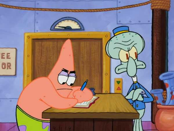 "SpongeBob SquarePants: ""Patrick Books a Hotel"""