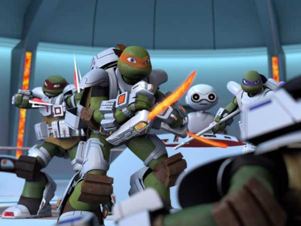"Teenage Mutant Ninja Turtles: ""Under Attack"""