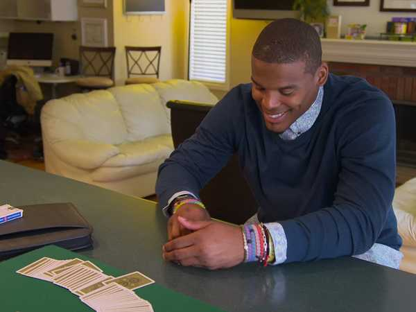 "All in with Cam Newton: ""Pick a Card"""