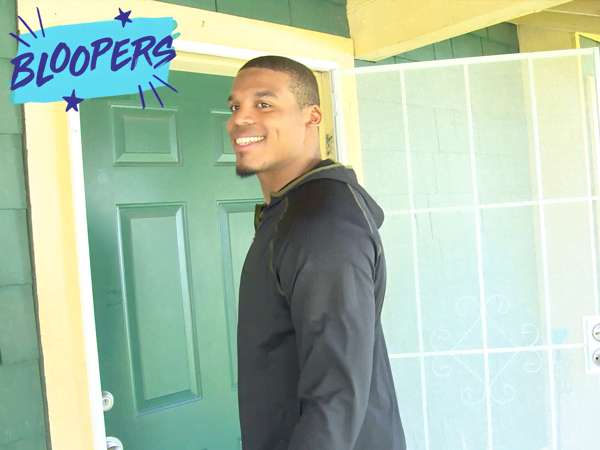 """All in with Cam Newton: """"Bloopers"""""""