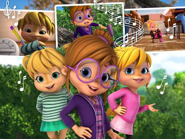 "ALVINNN!!! and the Chipmunks: ""Sing with the Chipettes!"""