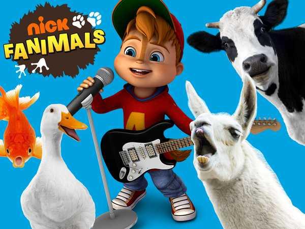 "ALVINNN!!! and the Chipmunks: ""Animals Sing Alvin"""