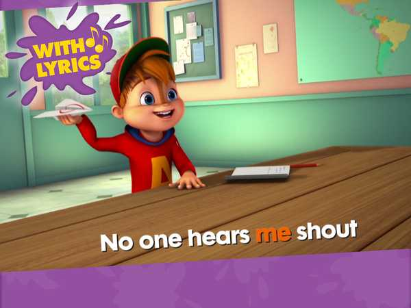 "ALVINNN!!! and the Chipmunks: ""Sing Get Me Outta Here"""
