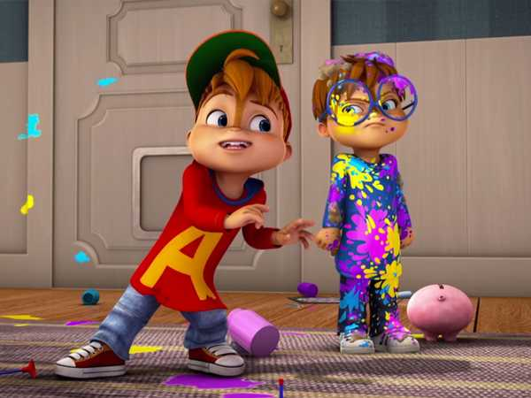 "ALVINNN!!! and the Chipmunks: ""Driving Dave Crazy: Clean Your Room"""