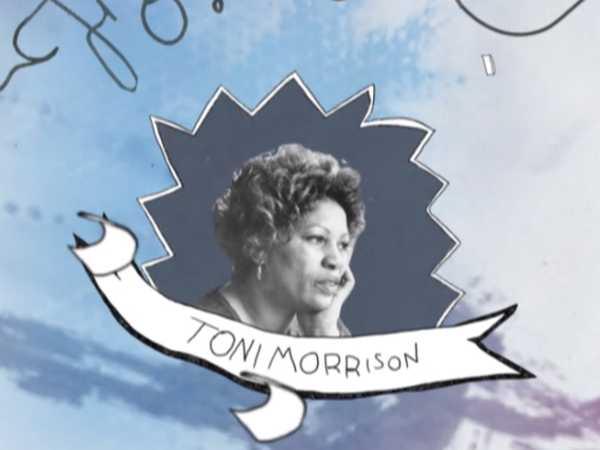 """Black History Month: """"Toni Morrison by Thiahera"""""""