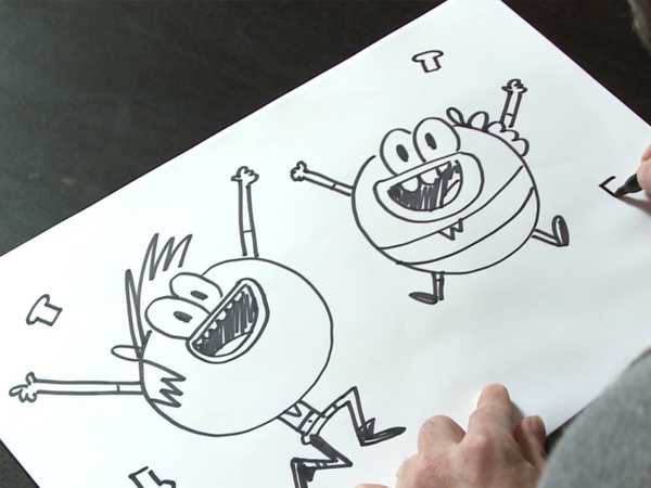 "Breadwinners: ""How to Draw Breadwinners"""