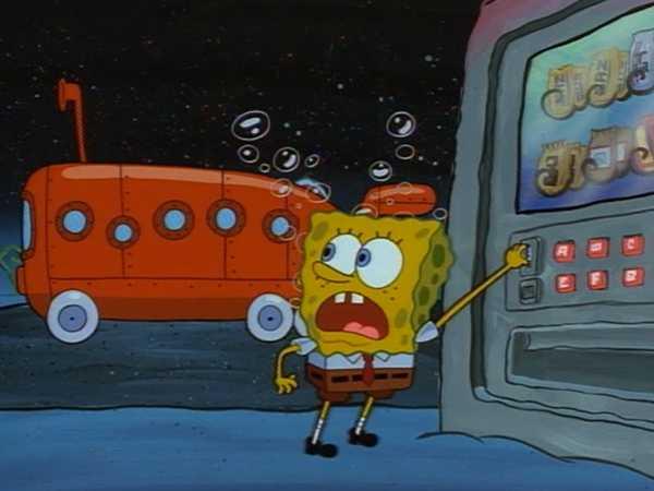 "Spongebob Squarepants: ""Candy Machine"""