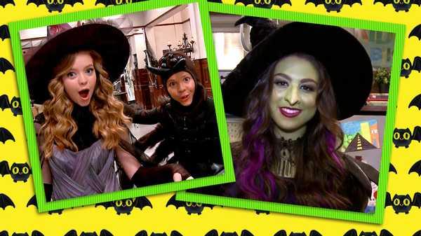 Halloween On Set