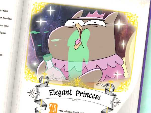 Harvey Beaks: Nick Princesses