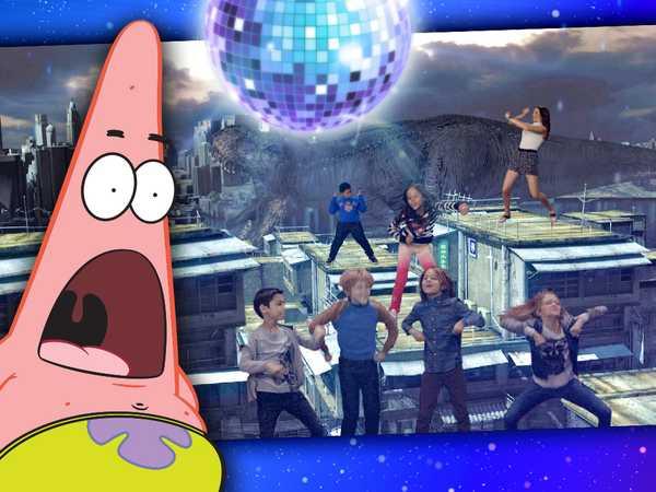 Nick Stars Dancing!