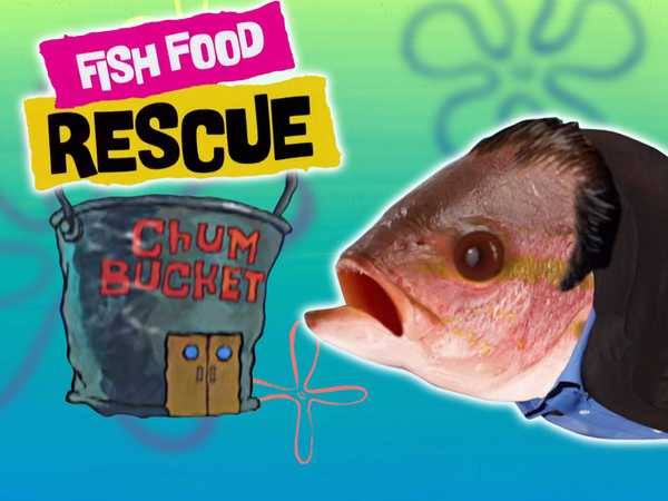 "Spongebob Squarepants: ""Fish Food Rescue: The Krusty Krab"""