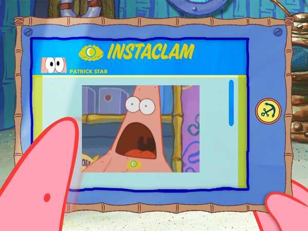 "SpongeBob SquarePants: ""Patrick Checks His Instclam"""