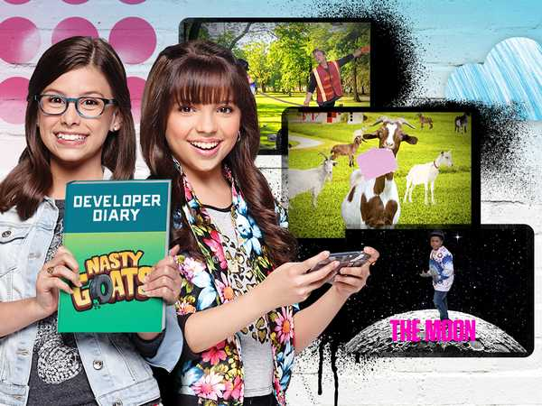 """Game Shakers: """"Nasty Goats Diaries"""""""