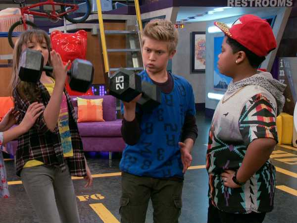 "Game Shakers: ""Game Training"""
