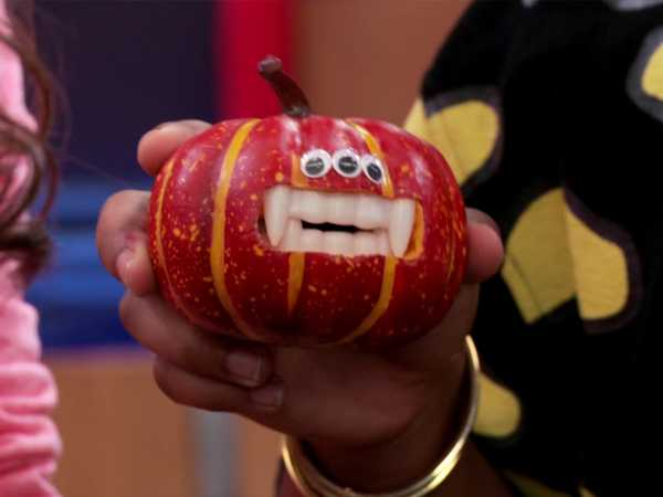 "Game Shakers: ""Pumpkin Toss"""